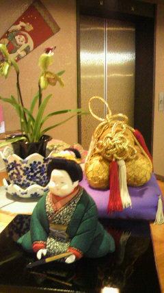 年越しの準備着々と日田温泉旅館 亀山亭ホテル