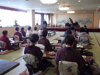 雪なのでございます。まるで雪国の様です 日田温泉 亀山亭ホテル