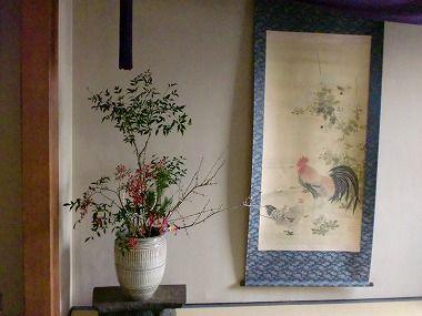 お正月のお仕度が着々と 大分県日田温泉亀山亭ホテル