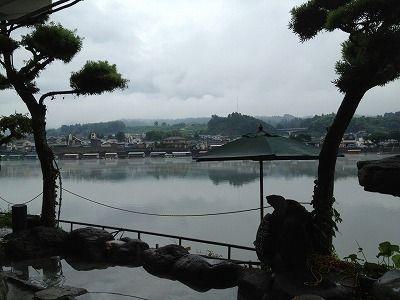 日田の朝霧