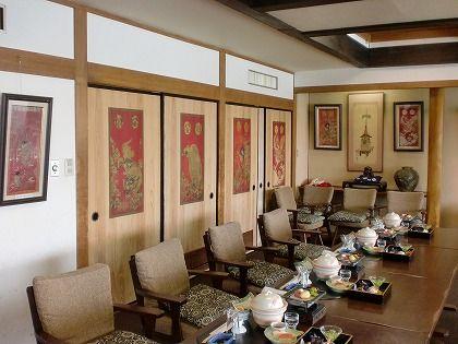 日田温泉 亀山亭ホテル 天領の間にある日田祇園見送りの額縁