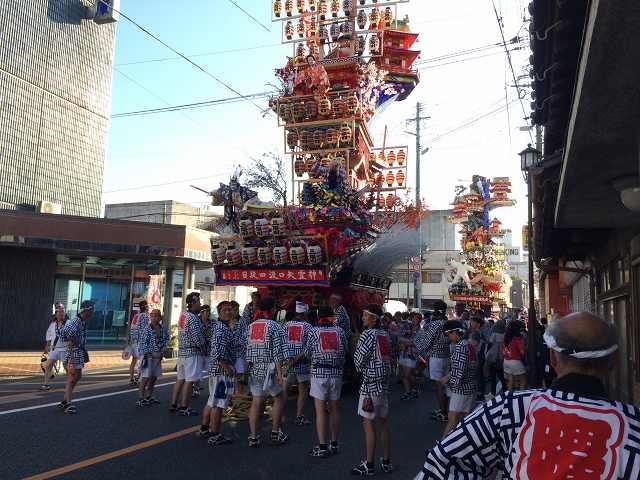 日本で一番熱い祭り、大分県日田市「日田祗園祭」