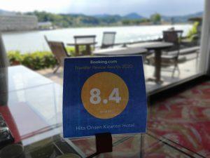 Booking.com Traveller Review Award 2020 受賞